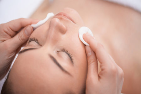Skin Balancing High Frequency Facial