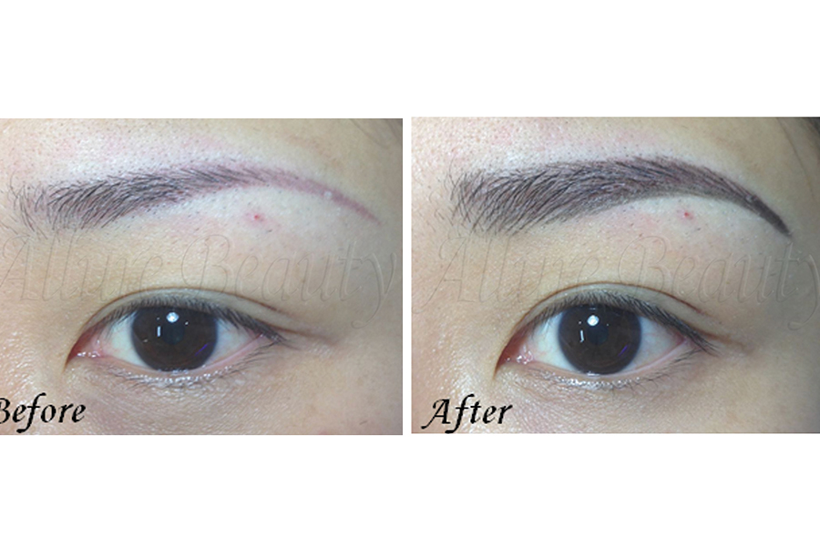 Eyebrow Combination by Allure Beauty Saloon on Daily Vanity Salon Finder