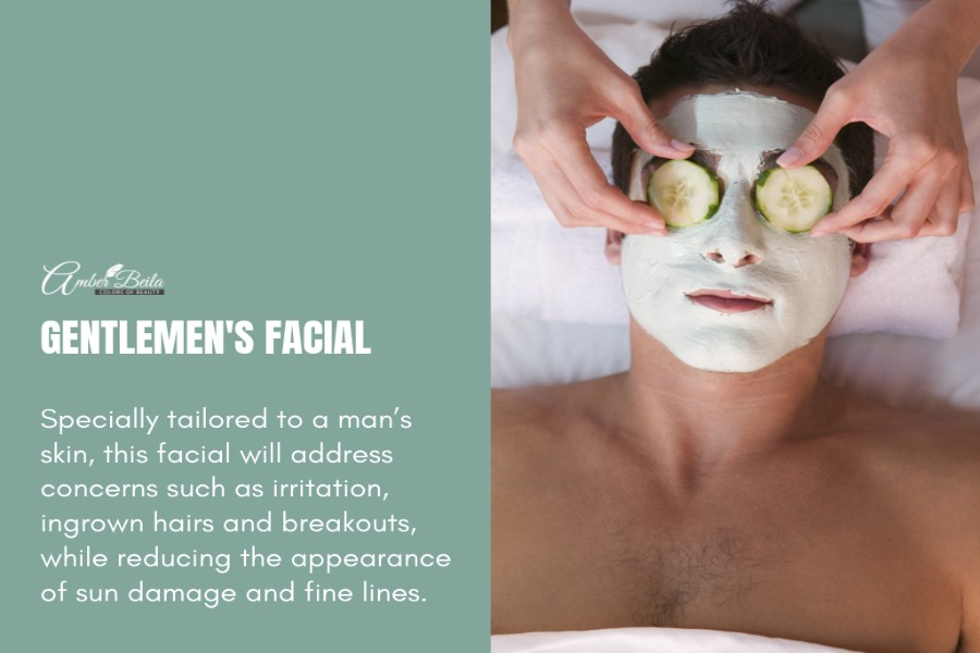 Gentlemen's Facial by Amber Beila on Daily Vanity Salon Finder
