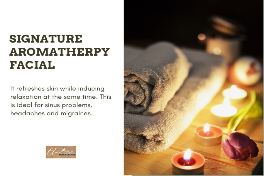 Signature Aromatherapy Facial by Amber Beila on Daily Vanity Salon Finder
