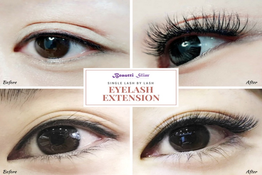 Single Lash-By-Lash Eyelash Extension by Beautti Slim on Daily Vanity Salon Finder