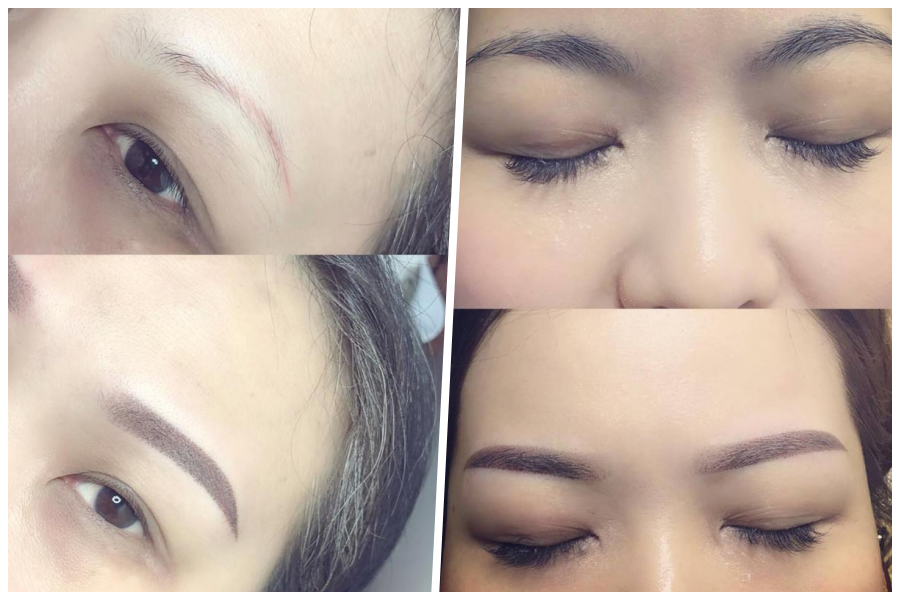 3D Creative Eyebrow Embroidery by Beauty Recipe on Daily Vanity Salon Finder