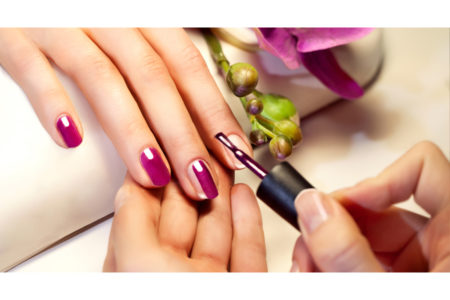 Manicure with colour only