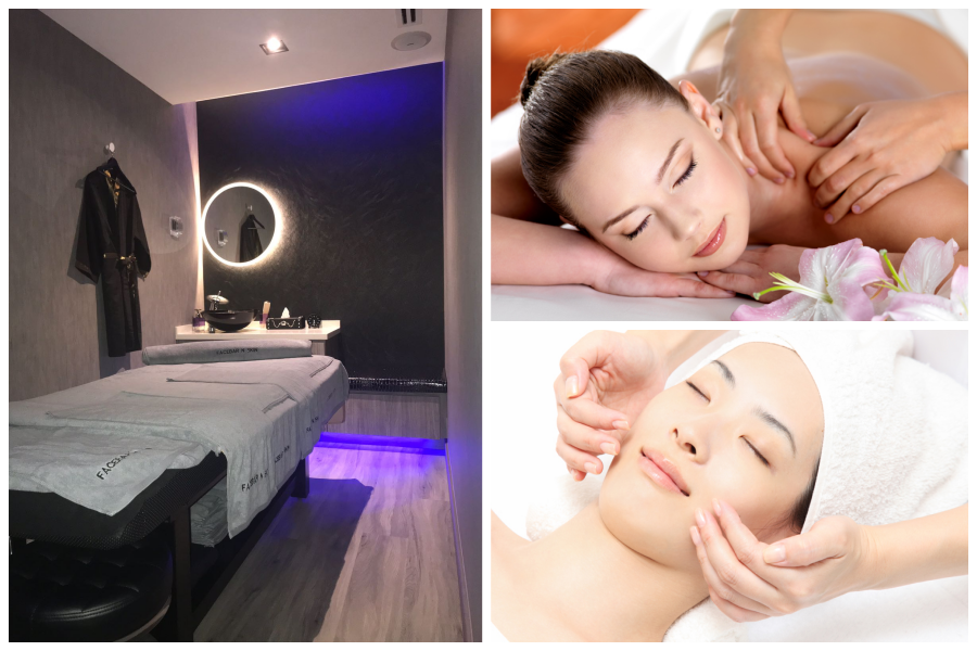 3-in-1 Pampering Massage, Body Treat & Facial Package by Facebar n Skin on Daily Vanity Salon Finder