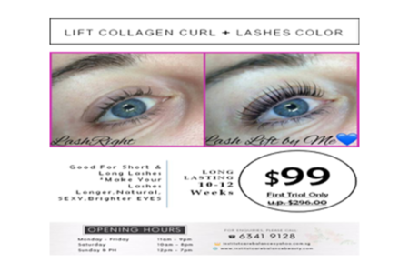 Lift Collagen Curl + Lashes Colour