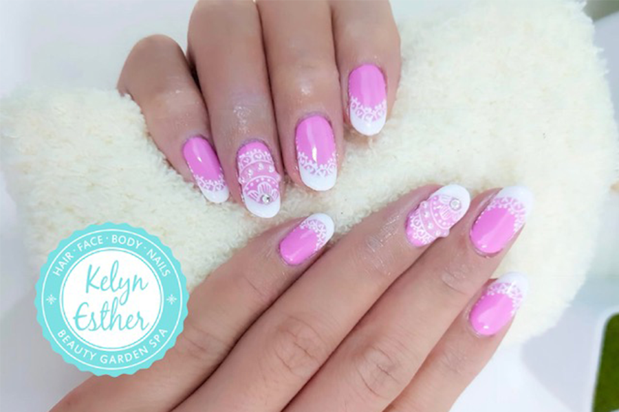 Classic Gel Manicure + Classic Gel Pedicure + 2 tone + Dead Sea & Organic Foot SPA by Kelyn Esther on Daily Vanity Salon Finder