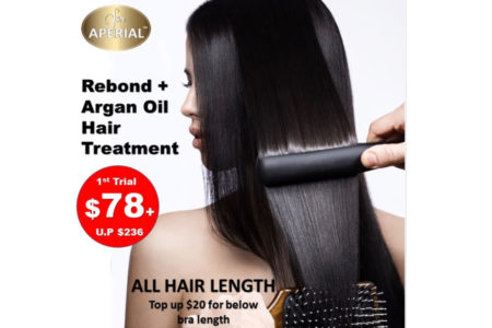 Rebond + Argan Oil Hair Treatment