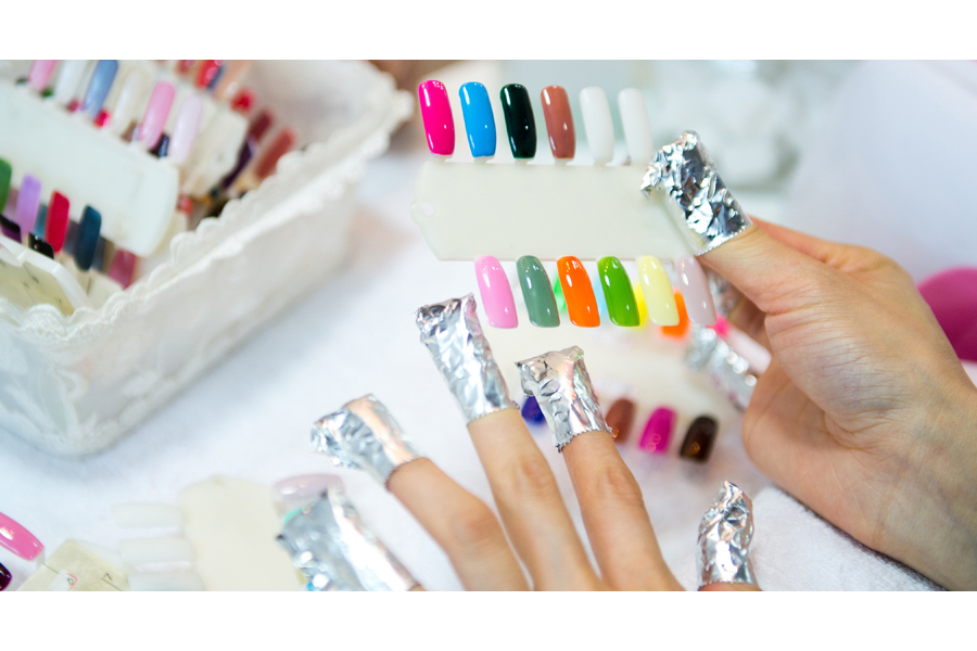 Soak Off for Gel Nails with 3D Acrylic Art by The Nail Gallery by Sharon (home based) on Daily Vanity Salon Finder