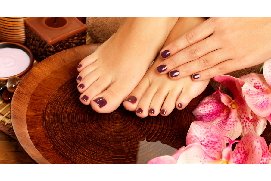 Express Manicure + Pedicure by Yoga Beauty Palace on Daily Vanity Salon Finder