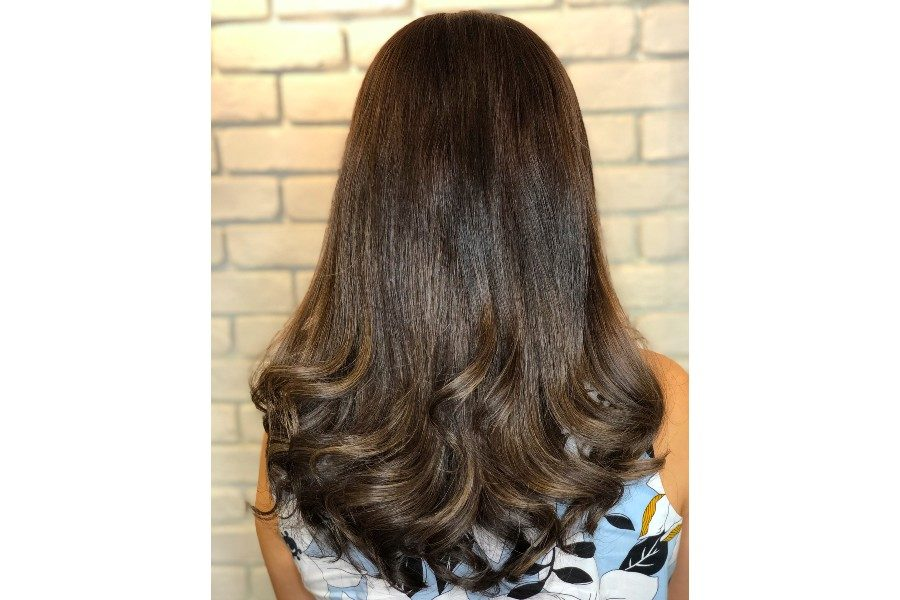 Korean Perm - Medium Hair by Jin Jin Hair & Beauty on Daily Vanity Salon Finder