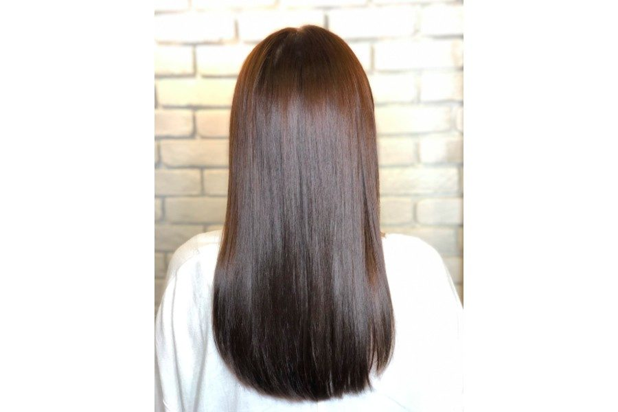 Straighten + Anti frizz + Hair treatment - Long Hair by Jin Hair on Daily Vanity Salon Finder