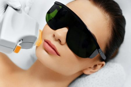 Facial IPL Hair Removal