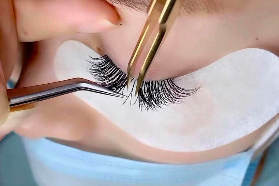 Unlimited Lash-by-Lash Extension + Eyebrow Shaping by Xiu House on Daily Vanity Salon Finder