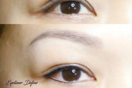 Defined Eyeliner Embroidery for Lower Lash Line