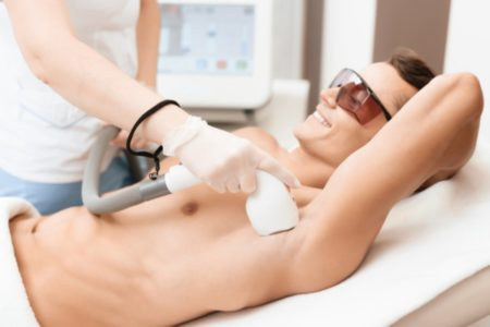 Boyzilian + Underarm Laser Hair Removal for Men