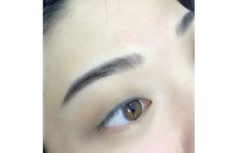 6D Hangul Eyebrow Embroidery