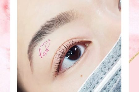 Collagen Lash Lift with Keratin Tint