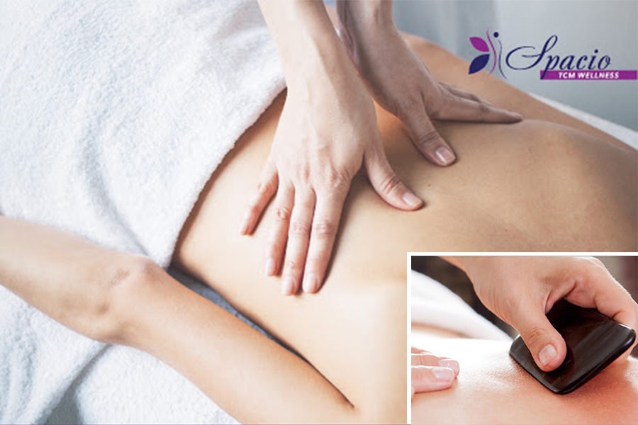 Deep Tissue Full-Body Massage with Complimentary Guasha by Spacio TCM on Daily Vanity Salon Finder