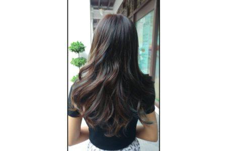 Balayage Highlight + 1 Tone Color + Olaplex Treatment + Moisturising Treatment – All Hair Length
