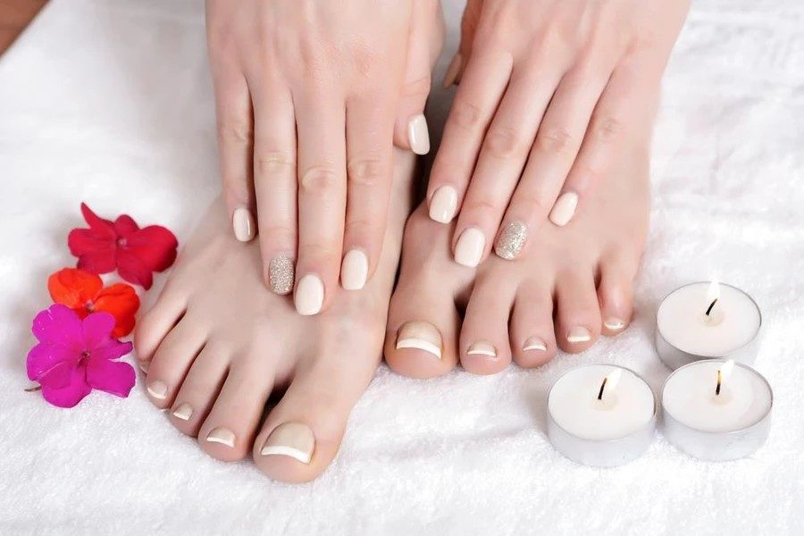Classic Gel Mani + Classic Pedi + Free Transport by Move Manicure on Daily Vanity Salon Finder